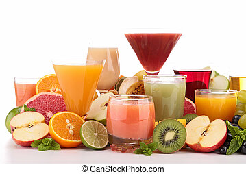 succo, frutta