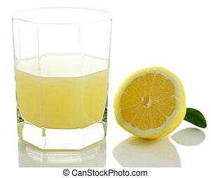 succo limone, fresco