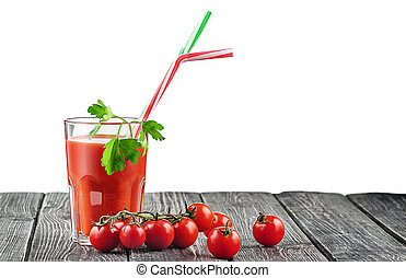 succo pomodoro, pomodori, vetro, ciliegia