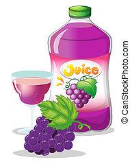 succo, uva