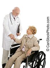 sucedido, tratamento médico