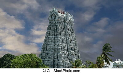 Suchindram temple--  India