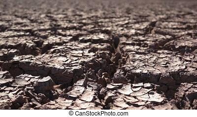 suchy, środowiskowy, kopnięta ziemia