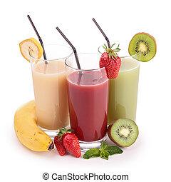 suco, fruta, isolado