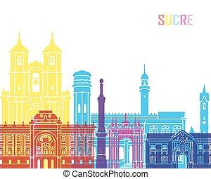 Sucre skyline pop