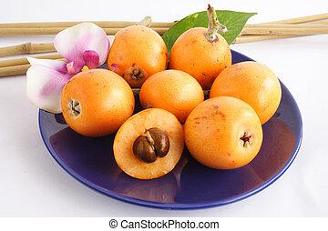 suculento, fruta