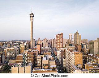 sudáfrica, johannesburg, céntrico