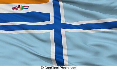 sud, civil, enseigne, afrique, obsolète, air, drapeau, ...