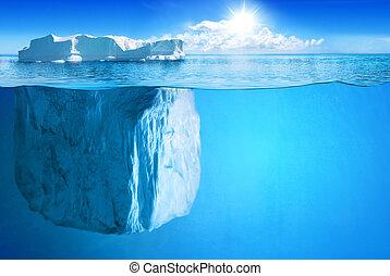 sud, et, pôle nord, et, tout, choses, apparenté