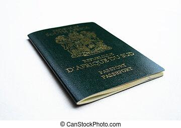 sud, passeport, africaine