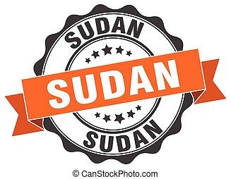 Sudan round ribbon seal