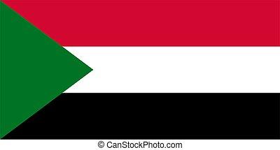 Sudanese Flag of Sudan