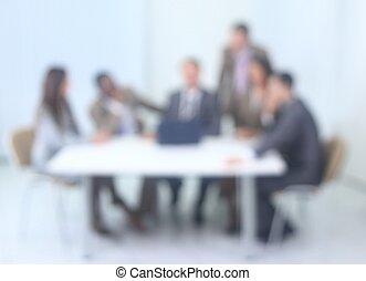 suddig avbild, av, affär, team.business, bakgrund