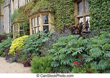 Sudeley castle facade, England