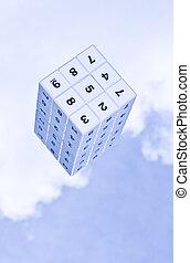 sudoku, 立方体, 3d