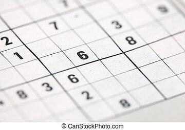 Sudoku background