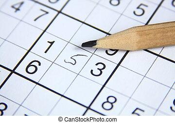 Sudoku - Pencil and sudoku riddle