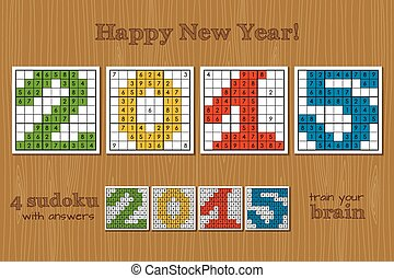 Sudoku set 2015