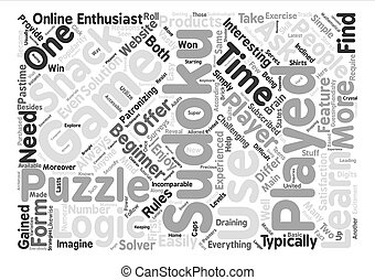 sudoku solver word cloud concept text background