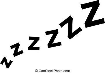 sueño, zzz, onda