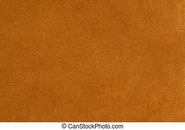 Suede background - Brown suede closeup background.