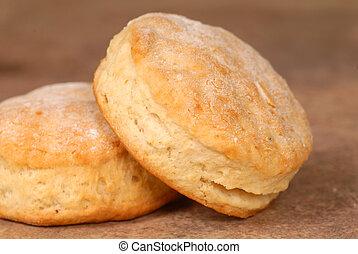 suero, galletas
