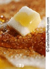 Sugar and honey