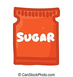 sugar bag isolated icon