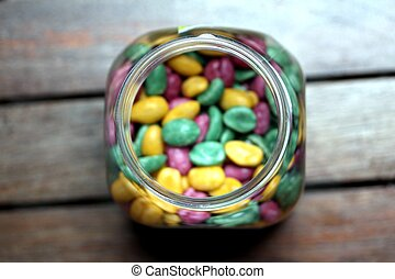 sugar coated peanuts