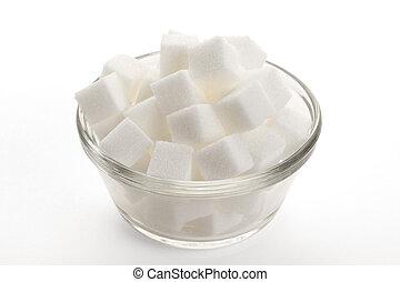 Sugar Cube close up shot