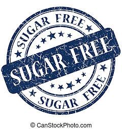 Sugar Free Blue stamp