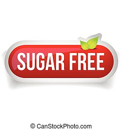 Sugar Free button icon