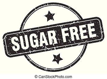 sugar free grunge stamp