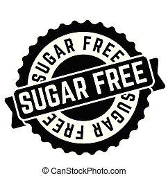 sugar free rubber stamp