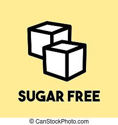 Sugar free sign