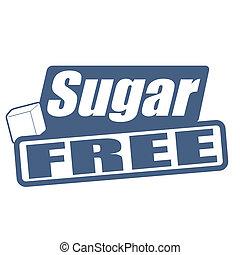 Sugar free stamp