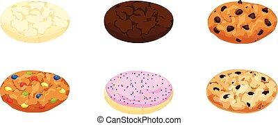 Sugar, Fudge, Chocolate Chip, Candy, Oatmeal Cookies