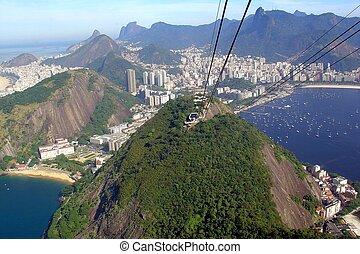 Sugar Leaf in Rio de Janeiro, Brazi