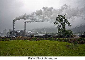 sugar mill in crushing season Tully Australia