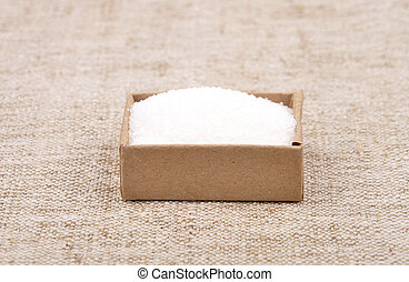 Sugar on linen