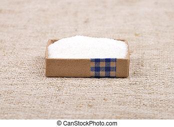 Sugar on wood