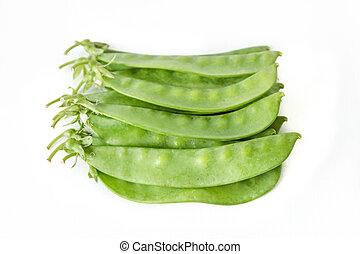 Sugar pea or sweet pea