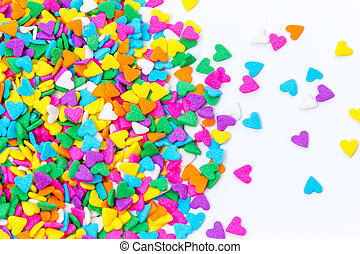 Sugar Sprinkles Hard Shape - Colorful Sugar Sprinkles...