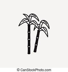 sugarcane, frutas, ícone