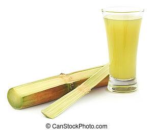 sugarcane, suco, pedaço