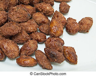 This is a typical Italian speciality: sugared crisp almonds.