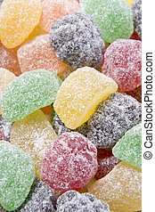Sugared Fruit Chew Sweets