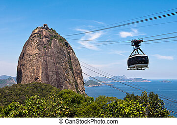 Sugarloaf Mountain and Cable Car - Cable Car at the...