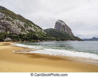 Sugarloaf Mountain in Rio de Janeiro - Brazil, City of Rio...