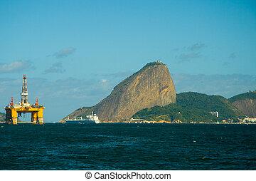 Sugarloaf mountain in Rio de Janeiro - Sugarloaf Mountain ...